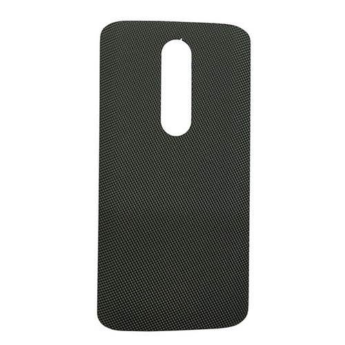 """Back Cover without """"DROID"""" logo for Motorola Droid Turbo 2 -Gray (Nylon)"""