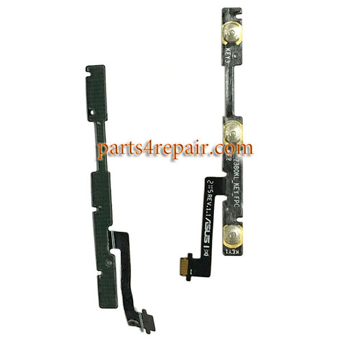 Side Key Flex Cable for Asus ZenPad 8.0 Z380KL from www.parts4repair.com