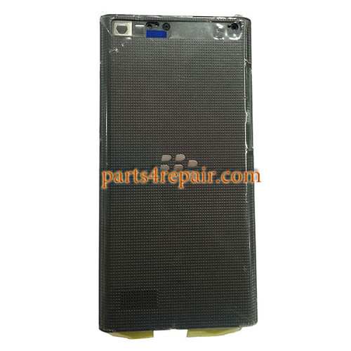 Back Housing without Camera Cover for BlackBerry Leap Z20 -Black