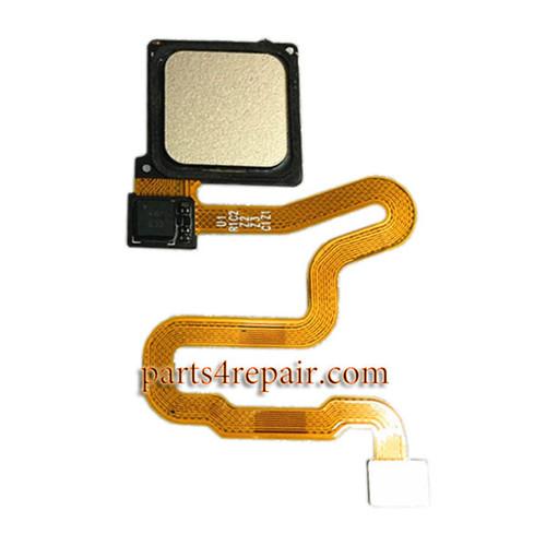 Fingerprint Sensor Flex Cable for Huawei P9 Plus -Gold