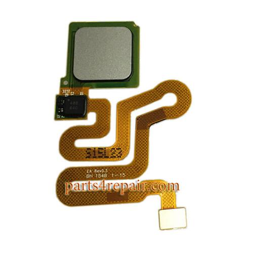 Fingerprint Sensor Flex Cable for Huawei P9 Plus -Silver
