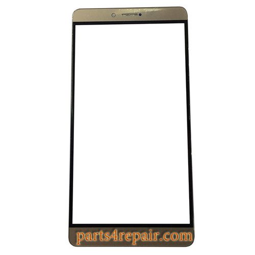 Front Glass OEM for Huawei Honor Note 8 -Gold