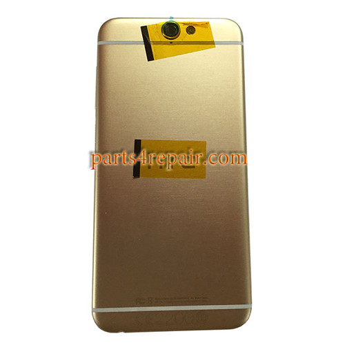 Back Housing Cover with Side Keys for HTC One A9 -Gold
