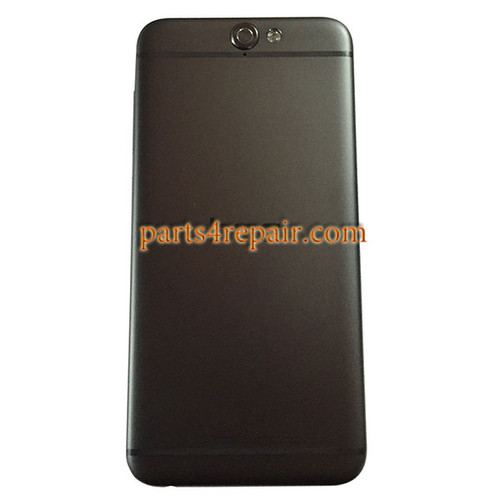 Back Housing Cover with Side Keys for HTC One A9 -Gray