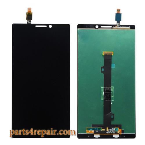 Complete Screen Assembly for Lenovo Vibe Z2 Pro K920 -Black