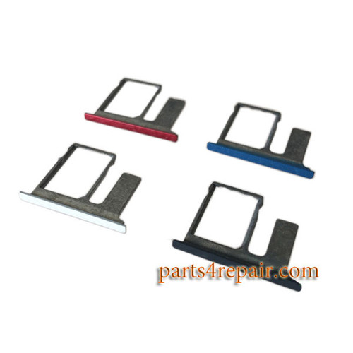 Single SIM Tray & TF Card Tray for HTC One E8 -Red