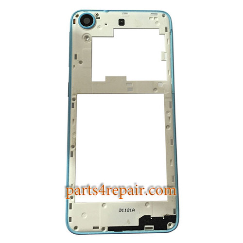 Middle Cover with Side Keys for HTC Desire 626 (Dual SIM) -Blue