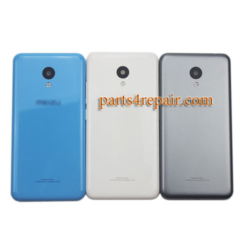Back Housing with Side Keys for Meizu M3 -Gray