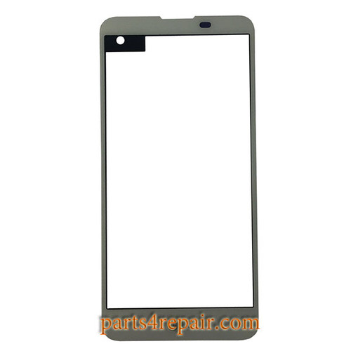 Front Glass OEM for LG X Screen K500 -White