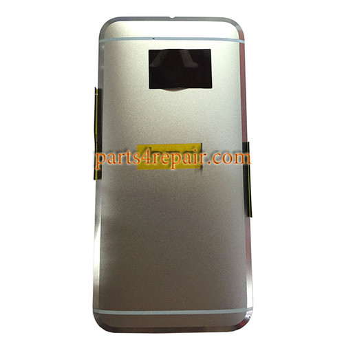 Back Housing with Side Keys for HTC 10 -Glacier Silver
