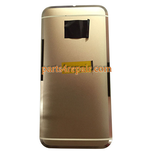 Back Housing with Side Keys for HTC 10 -Topaz Gold