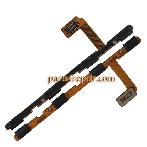 Side Key Flex Cable for Huawei Honor V8 -Version 2
