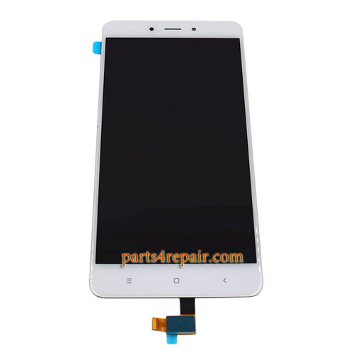Complete Screen Assembly for Xiaomi Redmi Note 4 -White
