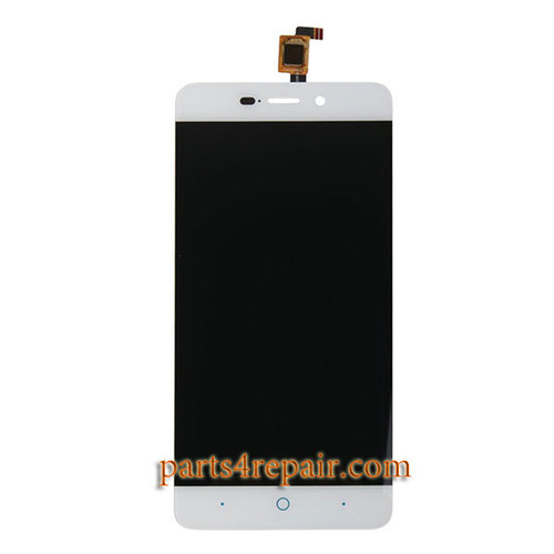 Complete Screen Assembly for ZTE Blade X3 / A452 -White