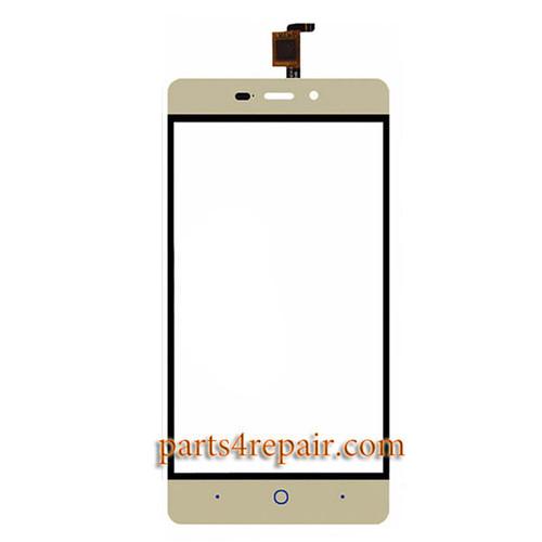 Touch Screen Digitizer for ZTE Blade X3 -Gold
