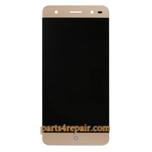 Complete Screen Assembly for ZTE Blade A2 -Gold