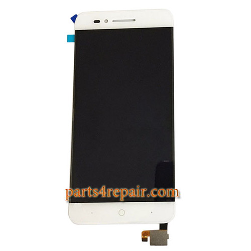Complete Screen Assembly for ZTE Blade A610 -White