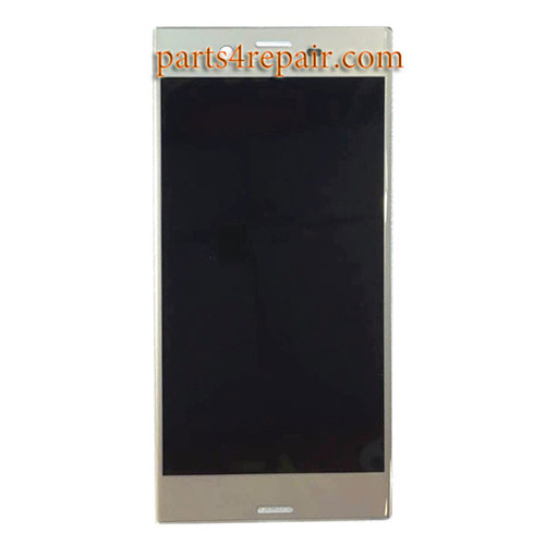 Complete Screen Assembly for Sony Xperia XZ F8332 -Platinum