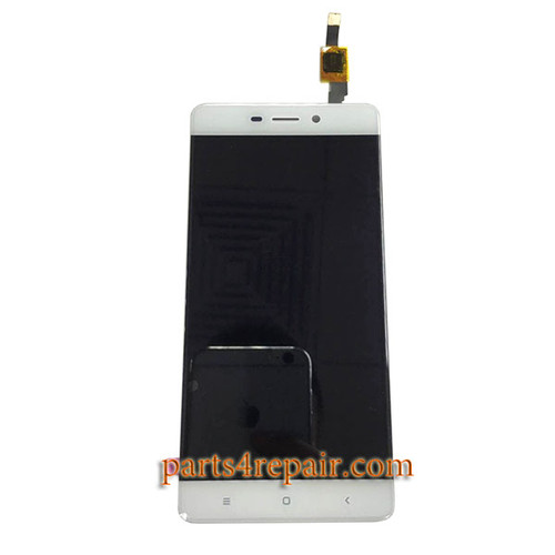 Complete Screen Assembly for Xiaomi Redmi 4 Standard Version -White