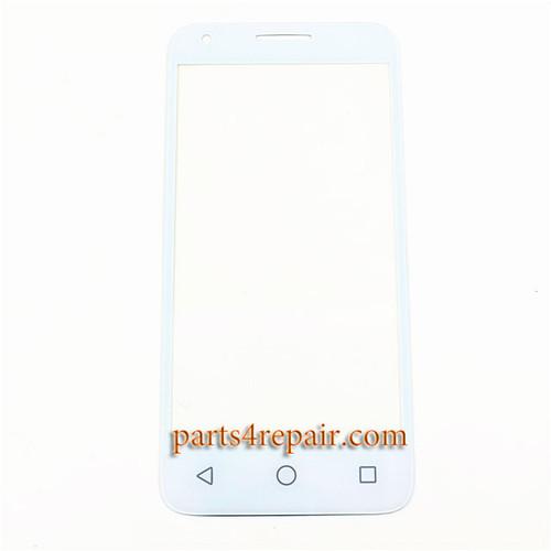 Front Glass for Alcatel Pixi 3 (4.5) 4027 -White