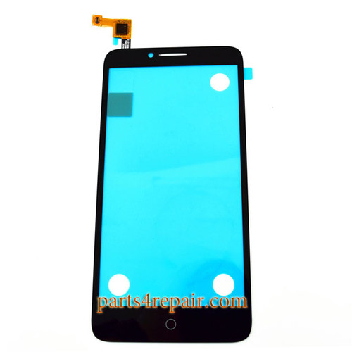 Touch Screen Digitizer for Alcatel Fierce XL 5054 -Black