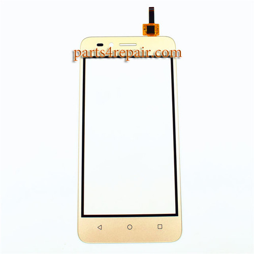 Touch Screen Digitizer for Huawei Y3II (Version 1) -Gold