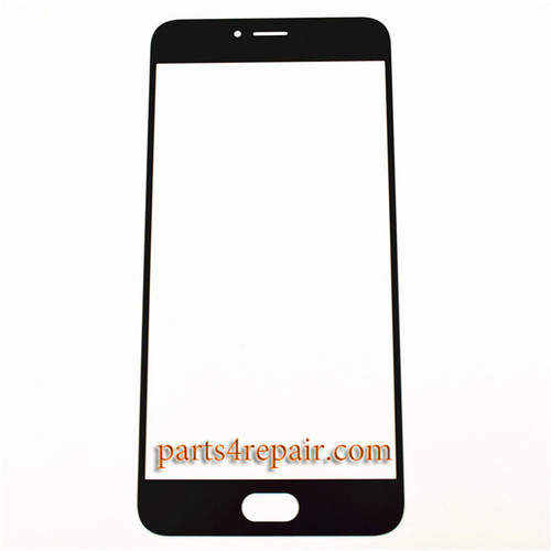 Front Glass OEM for Meizu MX6 -Black