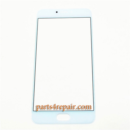 Front Glass OEM for Meizu MX6 -White