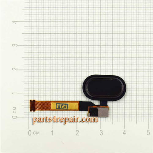 Home Button Flex Cable for Meizu Pro 5 -Black