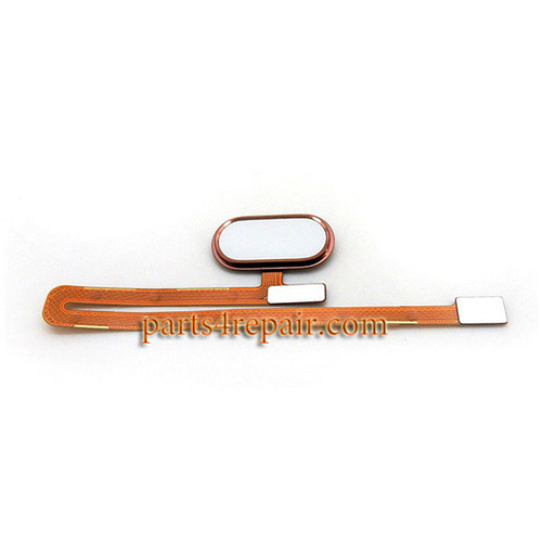 Fingerprint Sensor Flex Cable for Meizu MX6 -Rose Gold
