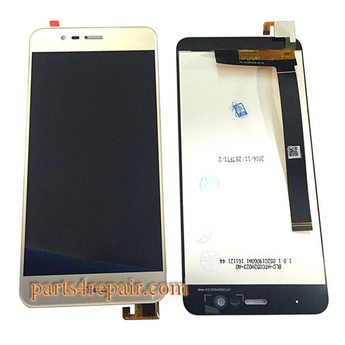 Complete Screen Assembly for Asus Zenfone 3 Max ZC520TL -Gold