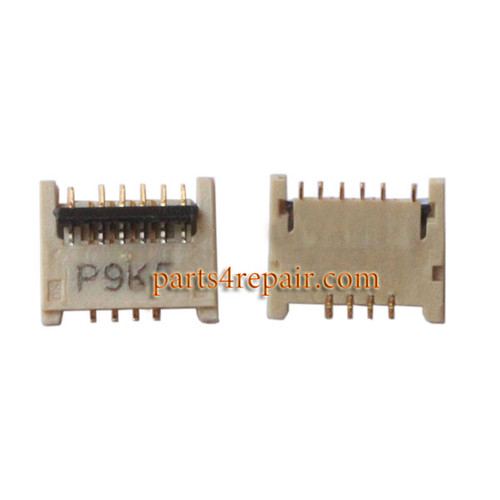 10pin Touch Screen FPC Connector for Samsung Galaxy E7 -5pcs