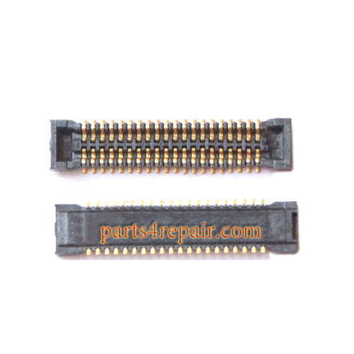 LCD FPC Connector on Flex Cable for Samsung Galaxy E7 -5pcs