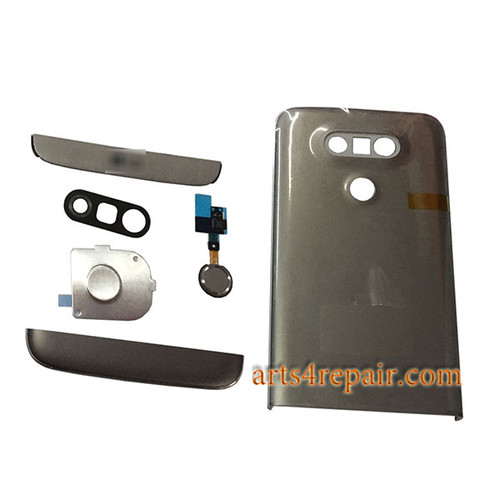 Back Housing with Small Parts for LG G5 H840 H850 -Grey