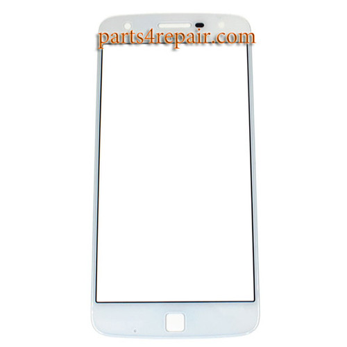 Front Glass OEM for Motorola Moto Z Play -White