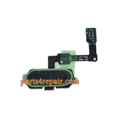 Home Button Flex Cable for Samsung Galaxy On7 (2016) -Black