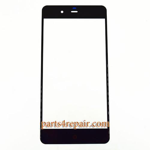 Front Glass OEM for ZTE Nubia My Prague NX513J -Black