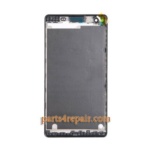 Front Housing Cover for Sony Xperia C4 -Black