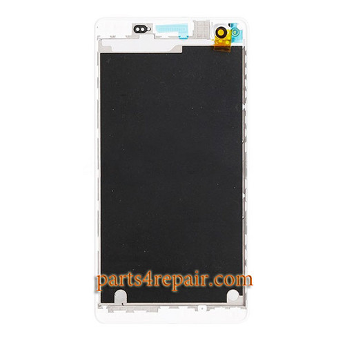 Front Housing Cover for Sony Xperia C4 -White