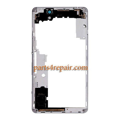 Middle Housing Cover for Sony Xperia C4 -White