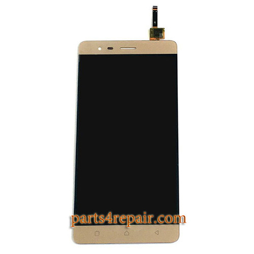 Complete Screen Assembly for Lenovo K5 Note -Gold