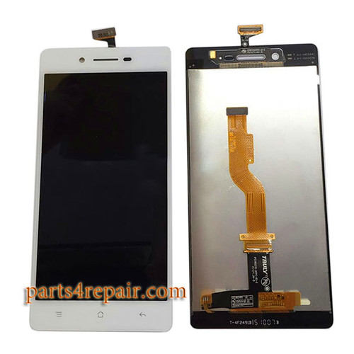 Complete Screen Assembly for Oppo A33 -White