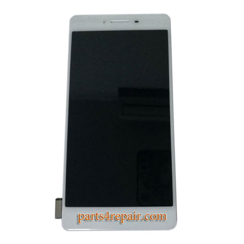 Complete Screen Assembly for Oppo R7s -White