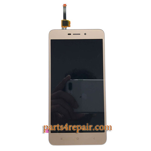 Complete Screen Assembly for Xiaomi Redmi 4A -Gold
