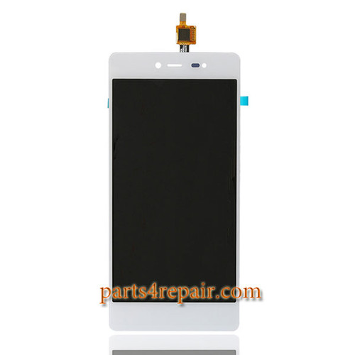 Complete Screen Assembly for Wiko Fever 4G -White
