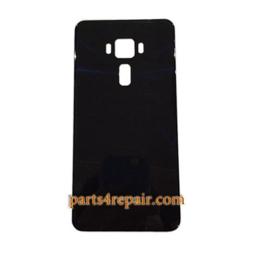 Back Glass Cover for Asus Zenfone 3 ZE552KL -Black
