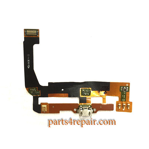 Dock Charging Flex Cable for Alcatel Pop C9 7047 -Used
