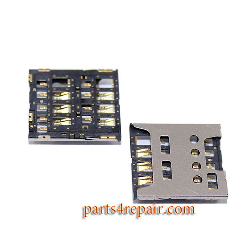 SIM Contact Connector for Sony Xperia SP M35H