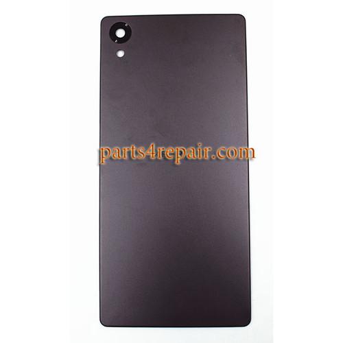 Back Cover for Sony Xperia X -Graphite Black