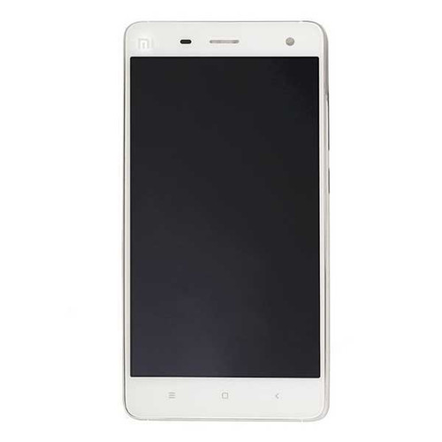 Complete Screen Assembly with Bezel for Xiaomi MI 4 -White